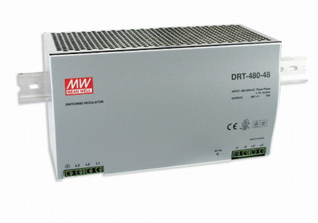 DRT-480-24 Mean Well Napájecí spínaný zdroj na DIN