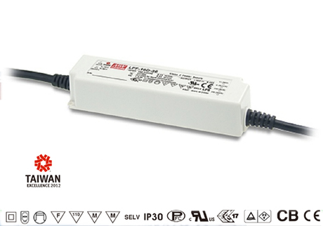 LPF-16D-15 Mean Well Stmívatelný zdroj pro LED 16W