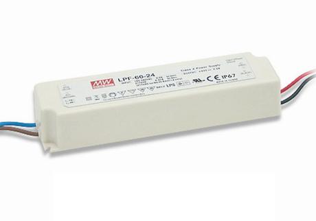 LPF-60D-36 Mean Well Stmívatelný zdroj pro LED 60W