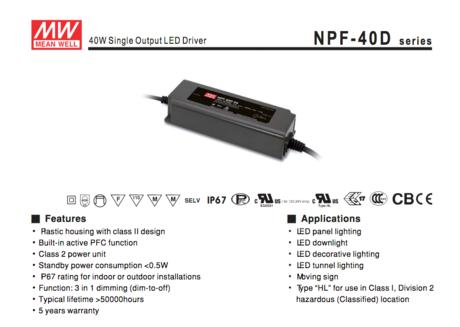 NPF-40D-series