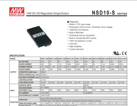 NSD10-S