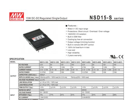 NSD15-S