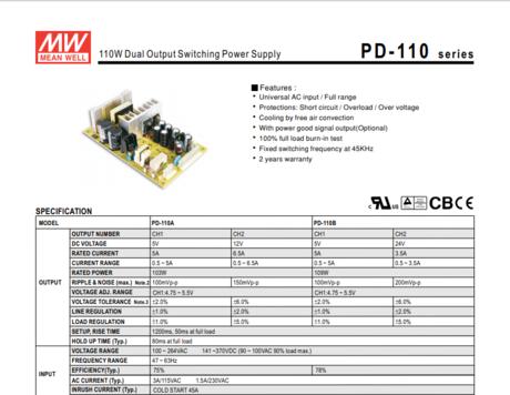PD-110A