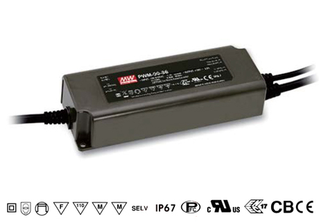 PWM-90-12 Mean Well stmívatelný zdroj